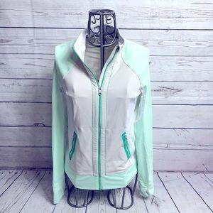 Lululemon Athletica Mint Green Beach Runner Jacket